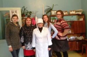 17.10.2018 г. - экскурсия обучающихся 9 класса в Сарокисловский ФАП