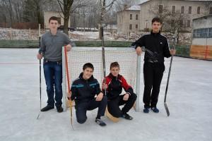 Хоккейный корт готов